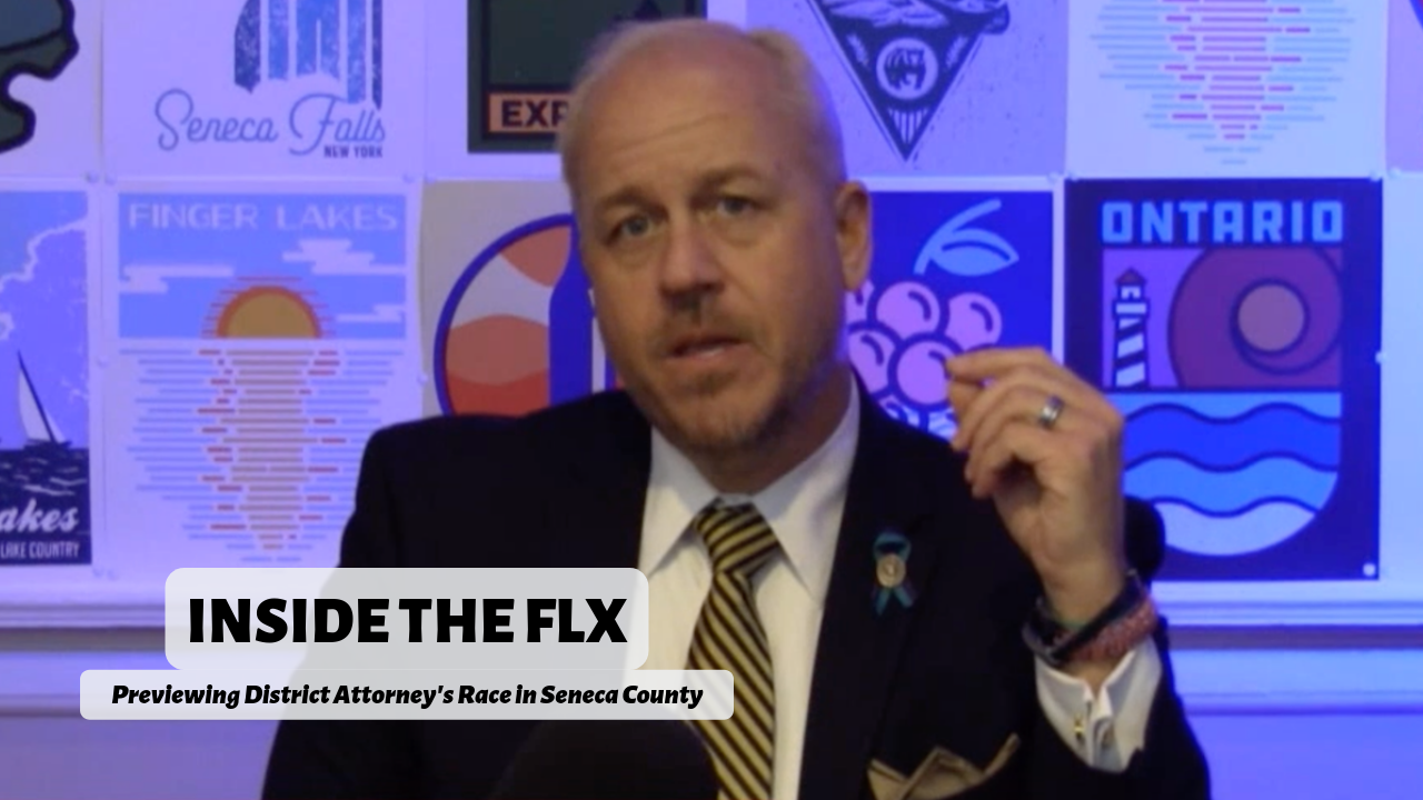 Christopher Folk talks platform for Seneca County District Attorney .::. Inside the FLX 2/28/19