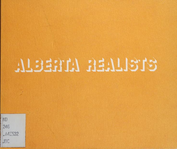 Alberta realists by Edmonton Art Gallery