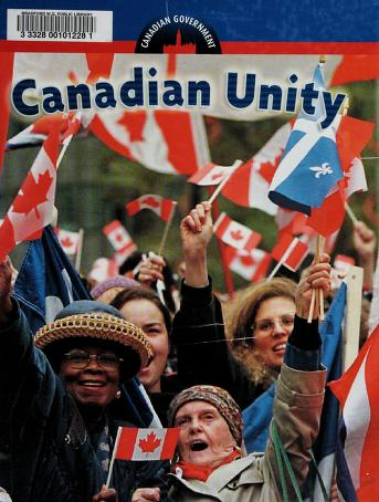 Cover of: Canadian unity | [editor, Don Wells].