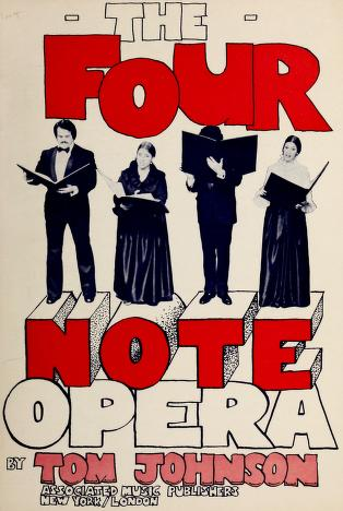 Cover of: The four note opera | Johnson, Tom