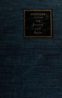 Cover of: On poetry and style | Aristotle