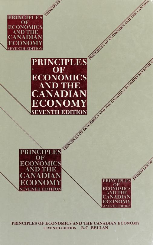 Principles of economics and the Canadian economy by R. C. Bellan