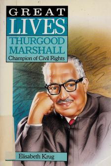 Cover of: Thurgood Marshall | Elisabeth Krug