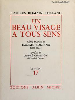 Cover of: Un Beau visage à tous sens | Romain Rolland